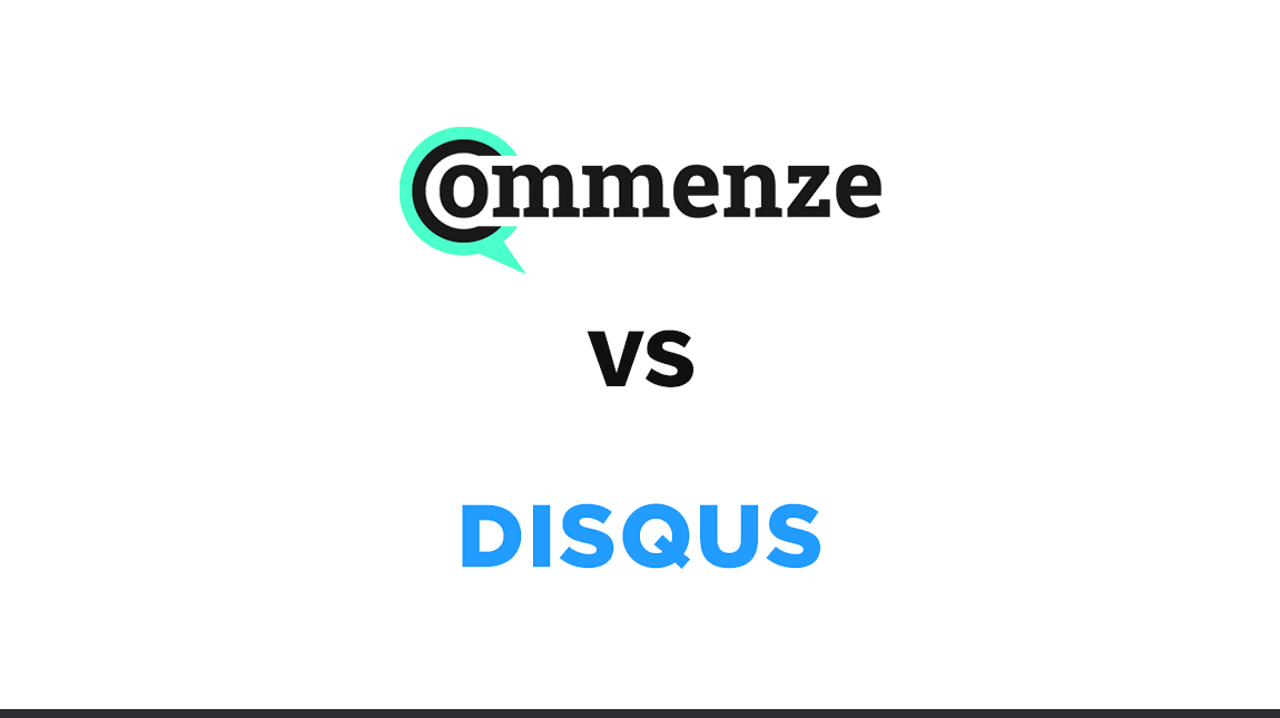 Commenze vs Disqus